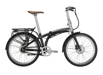 Bicicleta plegable tern Eclipse black mirror negro